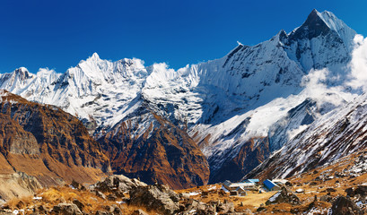 Wall Mural - Annapurna base camp, Nepal