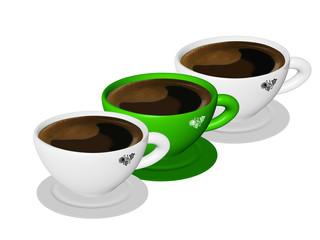 kawa filiżanka