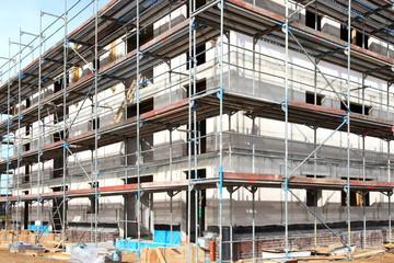 Baugerüst Verschalung Hochbau Bauindustrie