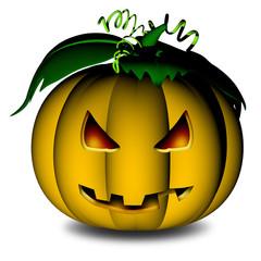 Zucca-Halloween Pumpkin-Citrouille-3D-2