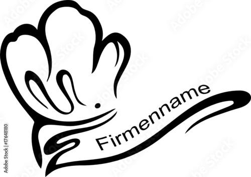 Koch kochm tze kochen logo firmenlogo stockfotos und for Koch 4 sterne