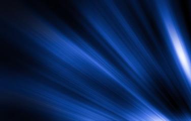 Blue Rays Of Light