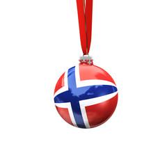 Christbaumkugel Norwegen