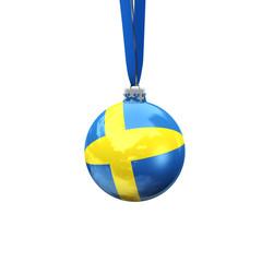 Christbaumkugel Schweden