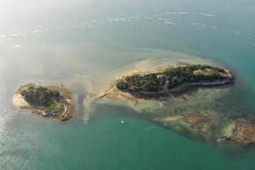 Îles Logoden , Golfe du Morbihan (56)