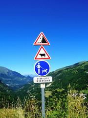 Signalisation montagnarde