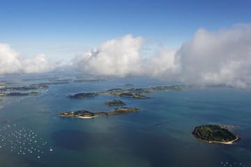 îles de Stibiden, Govihan, Brannec, île-aux-moines, Golfe du Mor