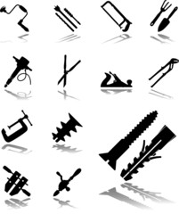 Set icons. Tools