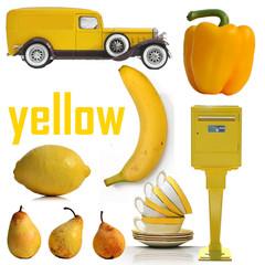 yellow, jaune