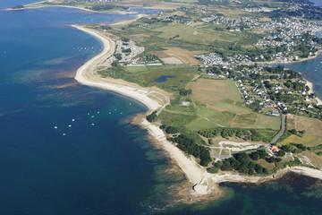 Plage de Locmariaquer, Golfe du Morbihan (56)