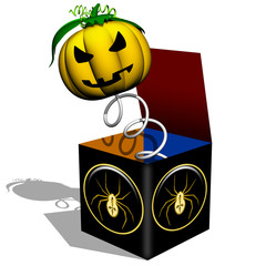 Zucca a Sorpresa-Halloween Pumpkin Surprise-Citrouille-3D