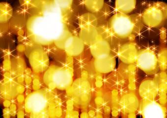 金色の光の背景