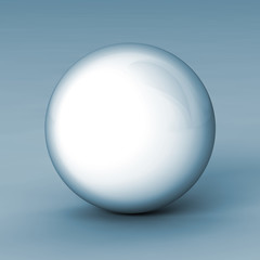 Ball Render Steelwhite