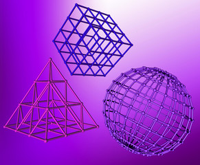 bryły matematyczne modele
