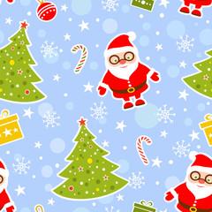Seamless Christmas Background