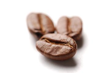 Coffee grains on a rough sacking