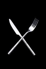 Messer und Gabel