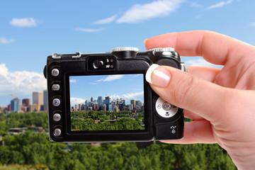 Taking snapshot of Calgary