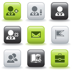 Icons with buttons 1