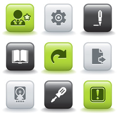 Icons with buttons 6