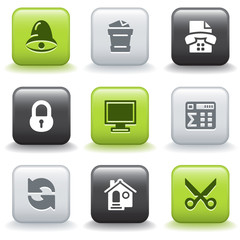 Icons with buttons 7