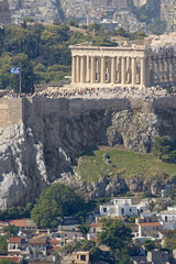 The Acropolis of Athens Vertical View