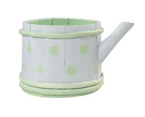 Wooden teapot. Handmade