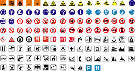 124 signs pack