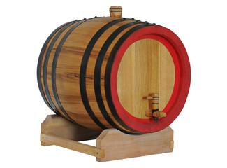 Old barrel for wine