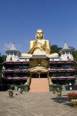 Buddha of Golden Temple, Dambulla, Sri Lanka