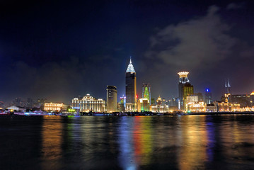 China Shanghai Bund night view