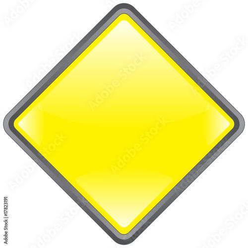 panneau losange vierge blank signpost blank fichier vectoriel libre de droits sur la. Black Bedroom Furniture Sets. Home Design Ideas