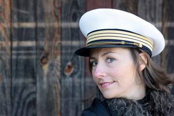 femme officier
