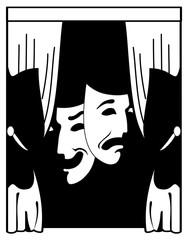 theater vector illustration