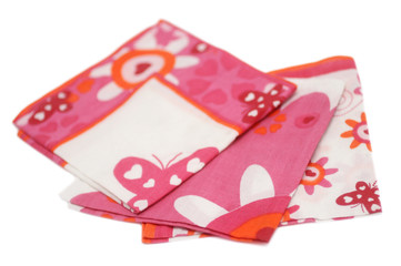 Petits mouchoirs en tissu