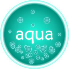Button aqua