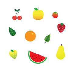 Fruit Decoration Set