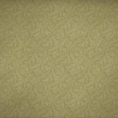 Background Olive Floral Allover
