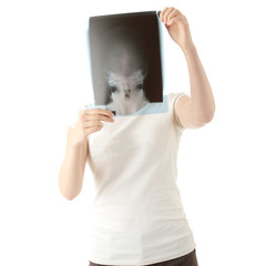 X-ray photo scan