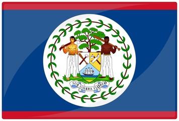 drapeau glassy belize flag