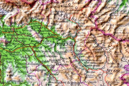 Cartina Geografica Firenze Pieterduisenberg