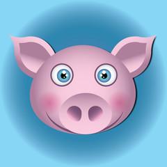 Cabeza de cerdo