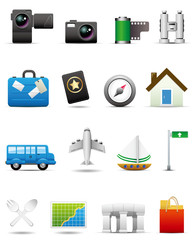 Travel Icon Set -- Premium Series