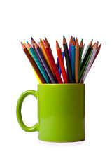 A Mug of Colour Pencils
