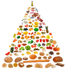 large food pyramid