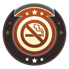 No smoking or nonsmoking icon