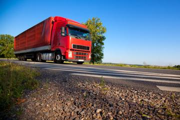 Wall Mural - Truck cargo transportation