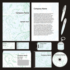 fully editable vector business templates set ready to use