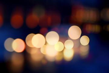 color light spots blur