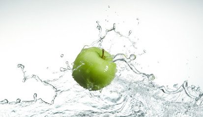 Wall Mural - fresh green apple